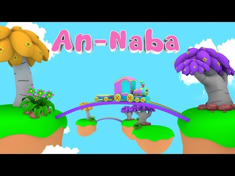 Animation 3D Juz Amma An Naba For Children memories with Battar Trains Hijaiyah | Abata Channel