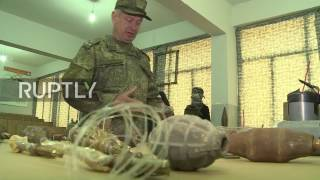 Syria: Russian International Mine Action Centre opens campus in Aleppo