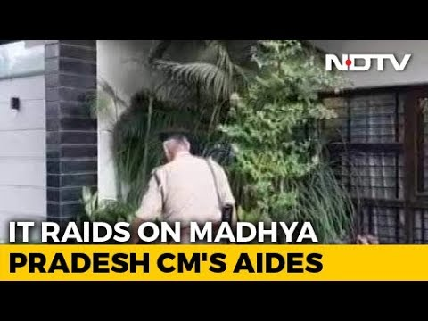 Income Tax Officers Raid Homes Of Kamal Nath's Aides In Delhi And Indore