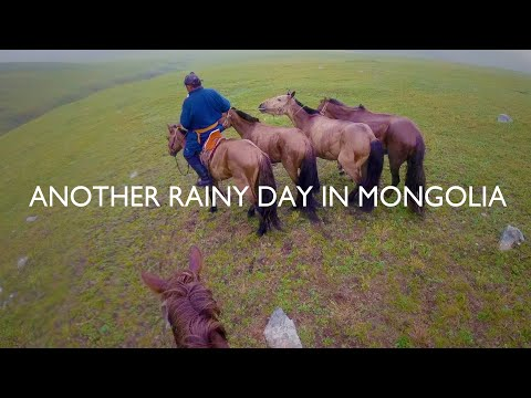 Another Rainy Day in Mongolia