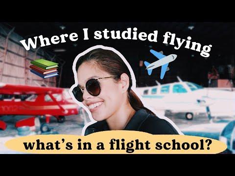 FLIGHT SCHOOL PHILIPPINES TOUR ✈️   Pilot Chezka Carandang