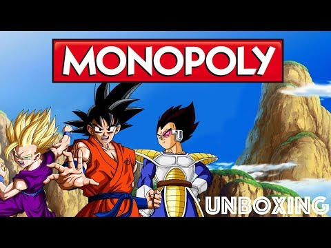 Dragon Ball Z Edition Monopoly UNBOXING & SHOWCASE!!!