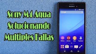 Reparando Sony Xperia M4 Aqua // Repairing Sony Xperia M4 Aqua