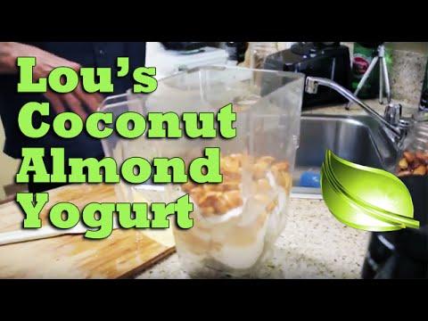 Lou Corona's Coconut Almond Yogurt