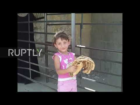 Syria: Civilians continue to grapple with life in besieged Deir ez-Zor *EXCLUSIVE*