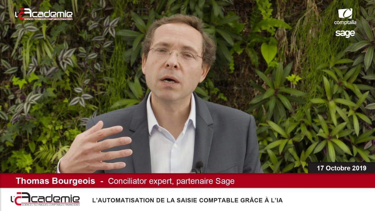 Les Entretiens de l'Académie : Thomas Bourgeois