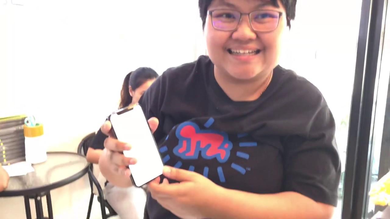 ร้านเปลี่ยนจอ iPhone X รอรับกลับได้เลย ลูกค้าได้ดูทุกขั้นตอนการเปลี่ยน ร้าน Jenny Service 0998877567