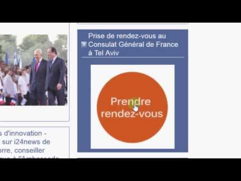 Comment Prendre Rendez Vous Avec Le Consulat (vidéo En Français)