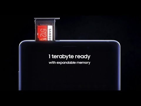 Note 9 1TB With Samsung 512GB MicroSD Card | OnePlus 6T $549, Flagship Specs And Cool Tech