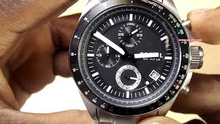 Fossil Decker Chronograph Analog Black Dial Men's Watch - CH2600IE || Unboxing