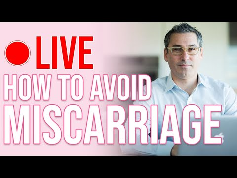 HOW TO AVOID MISCARRIAGE & have a healthy baby