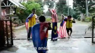 Saya Anak Malaysia | versi karaoke