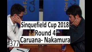 2018 Sinquefield Cup Round 4 ¦ Caruana has a Cosy King!