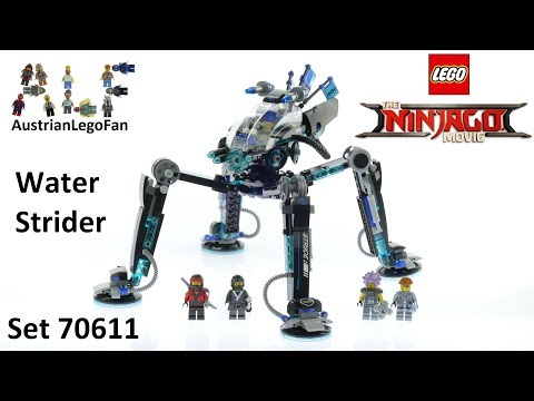 Lego Ninjago Movie 70611 Water Strider - Lego Speed Build Review