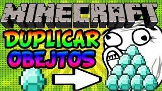 Minecraft -Duplicar objetos- 1.4.7 (No MODS)