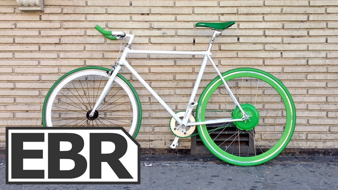 Flykly Smart Wheel Video Review Light Weight Single Speed