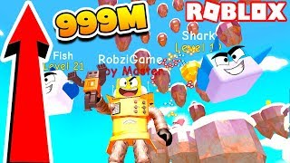 SIMULATOR TOYS! 999 METRES the world's highest OBBI! ROBLOX TOY SIMULATOR