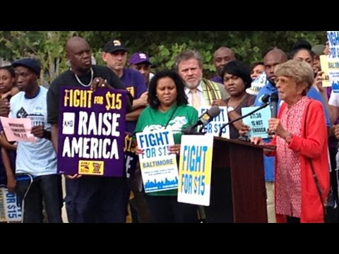 The #FightFor15 Heads For Round Two on Monday's Baltimore City Council Vote