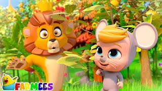 The Lion and the Mouse   Kindergarten Tales & Nursery Rhymes   Kids Cartoon Videos   Storytime