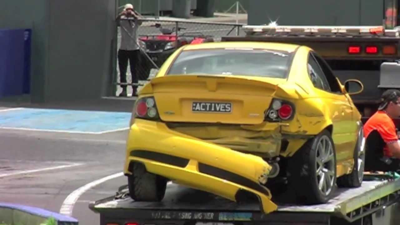 Active Automotive Monaro Crash @ Motorvation #26 - YouTube