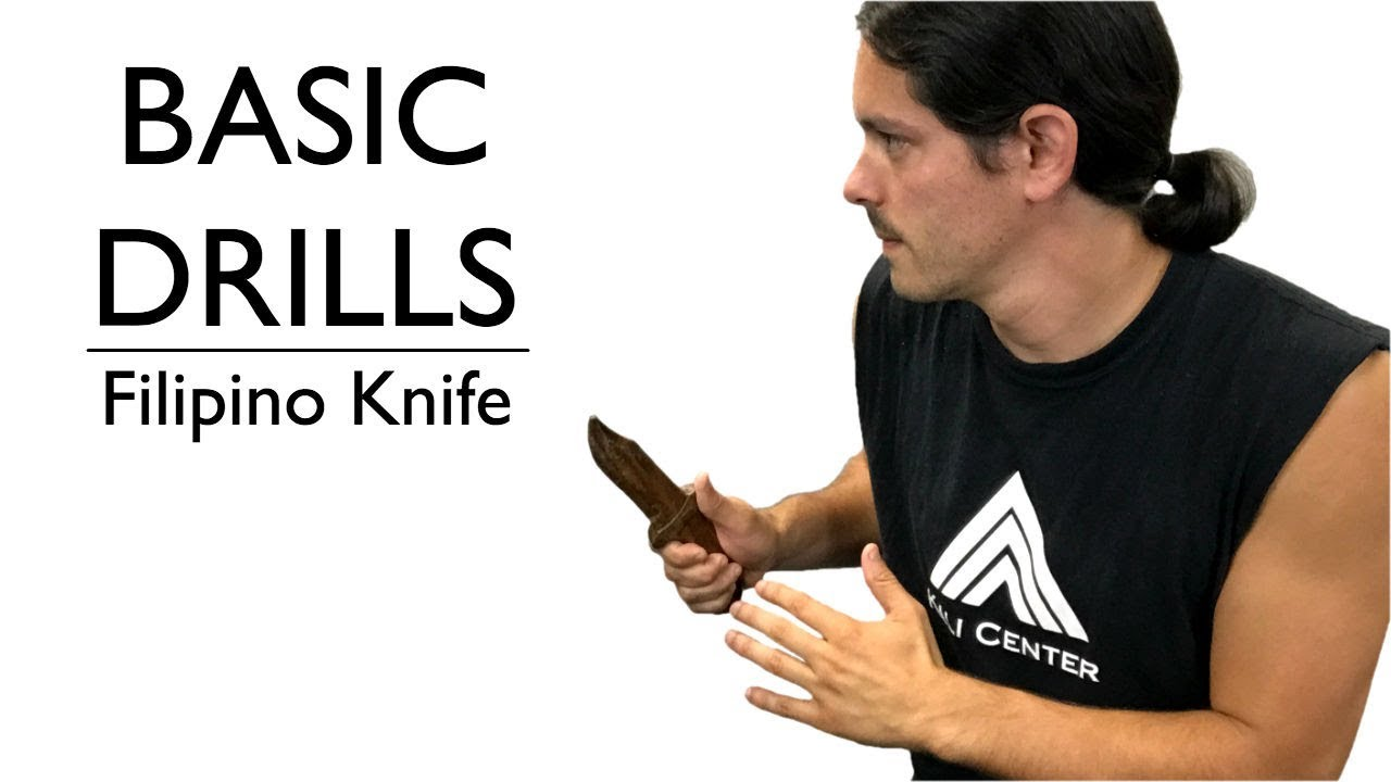 Knife Fighting Techniques For Beginners Filipino Martial Arts