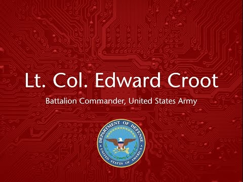 Externships: Lt. Col. Croot, US Army