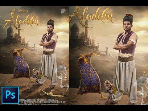 Aladdin   Photoshop Manipulation Tutorial   By Sony Jackson thumbnail