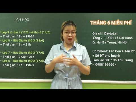 Khai giảng lớp học văn Cô Trang - Lớp 6, 7, 8, 9 - Năm học 2019 - 2020