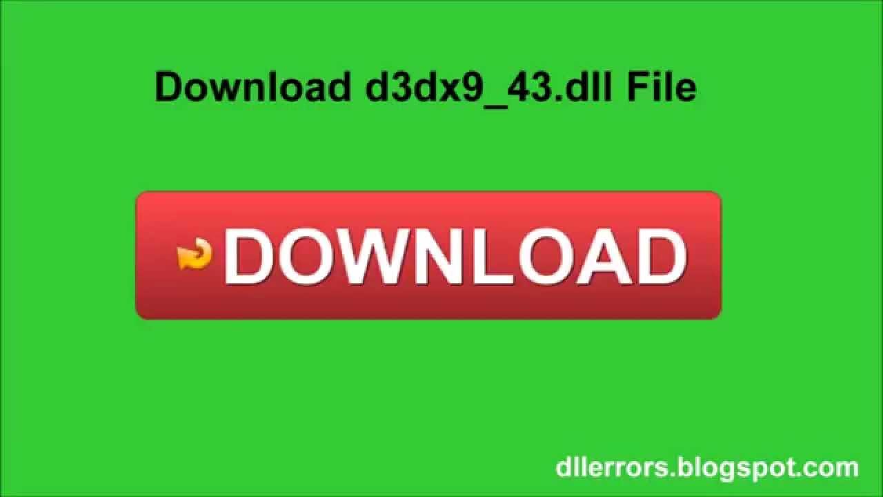 D3dx9_43.Dll