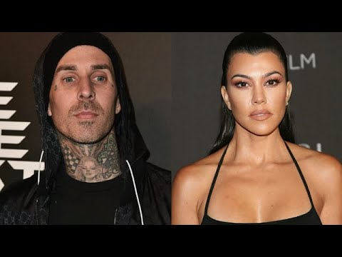 Kourtney Kardashian and Travis Barker Relax at Kris Jenner's Palm ...
