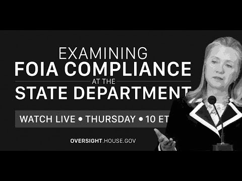Examining FOIA Compliance at the Department of State