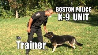Boston Police K-9 Unit :the Trainer