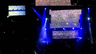 Swedish House Mafia Live at MSG March 1 2013 - Teasing Mr. Charlie/Nothing But Love/Lights