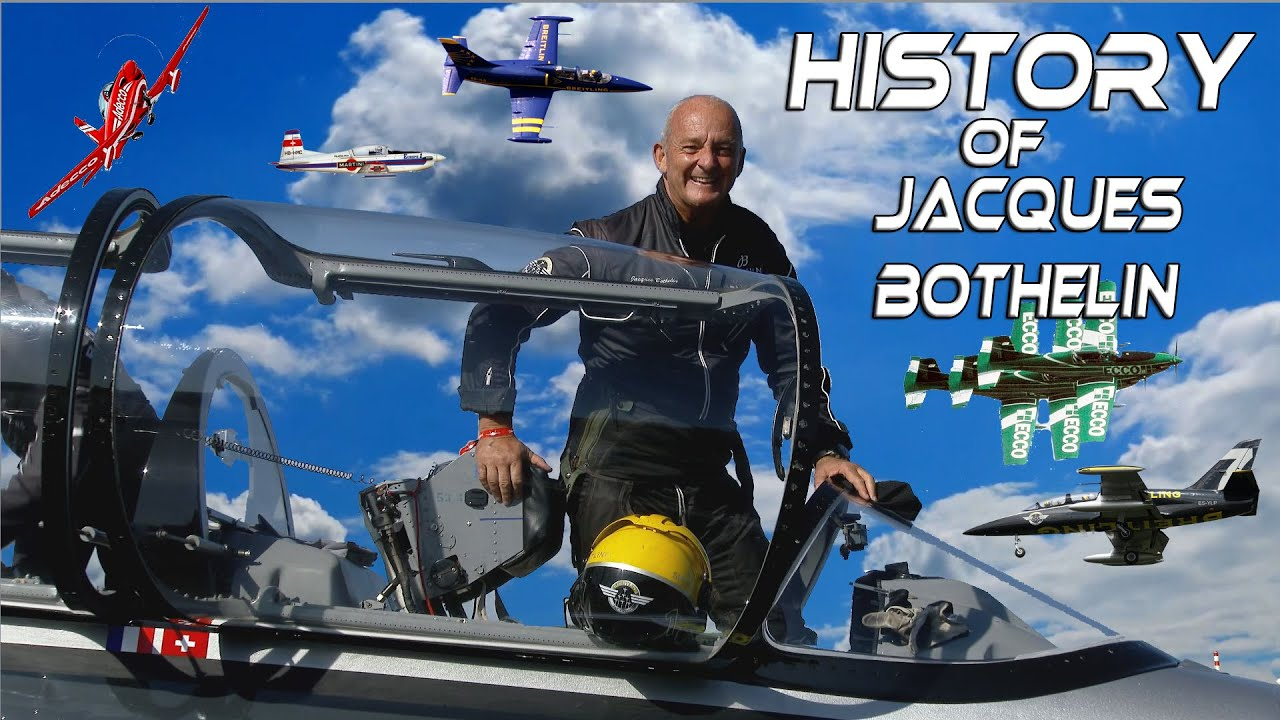 History of Jacques Bothelin,one of the longest flying Airshow Aviators,& his Apache Aviation 4K UHD