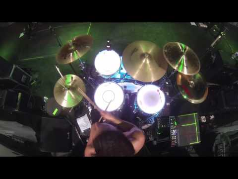 "SIlver Snakes - ""Red Wolf"" Live Drum Play-through"