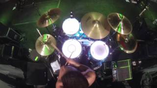 """SIlver Snakes - """"Red Wolf"""" Live Drum Play-through"""
