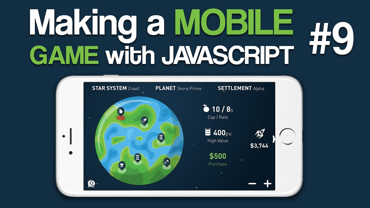 Making A Mobile Game With Javascript 9 Moving Our