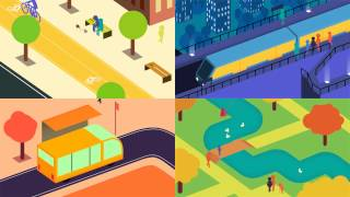 The Future of Urban Mobility: an Arup animation screenshot 5