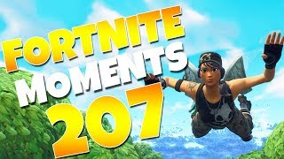 THE UNLUCKIEST LANDING OF ALL TIME...(NEVER BEFORE SEEN!) | Fortnite Funny Moments Ep. 207