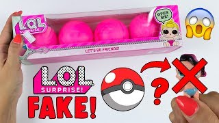 LOL Surprise FAKE dentro le POKEBALL? ORRENDA!