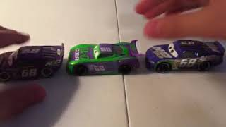 Disney Pixar cars 3 H.J. Hollis diecast review