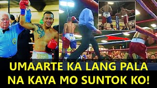 "Nagtigas-tigasang Mexican boxer, Bagsak kay Mercito ""No Mercy"" Gesta!"