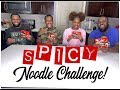SPICY NOODLE CHALLENGE!    I LOST?!