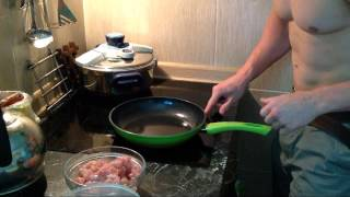 Příprava bílé rýže a kuřecích prsou snadno a rychle | Aleš Lamka