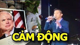 Những dòng nhạc cảm động của Việt Khang dành cho John McCain