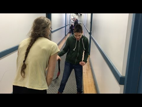 Somatic Milestones: Blind Boy with CP learns how to walk independently