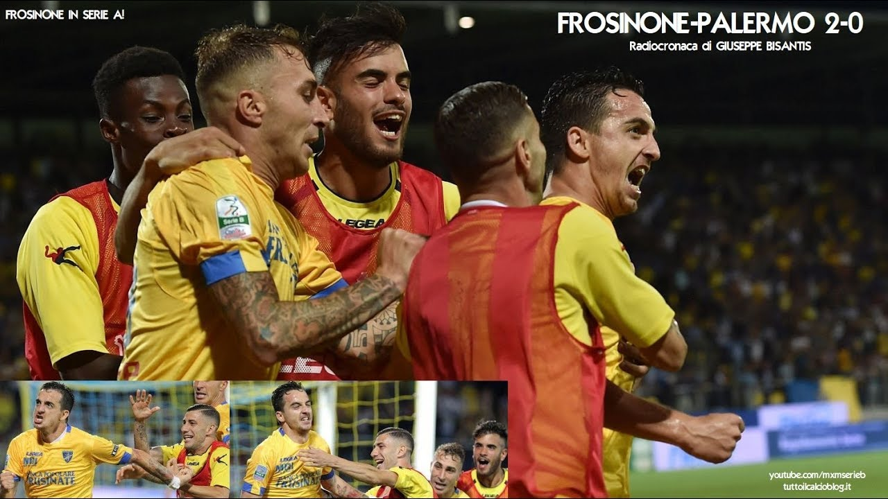 Frosinone Palermo 2 0 Radiocronaca Di Giuseppe Bisantis
