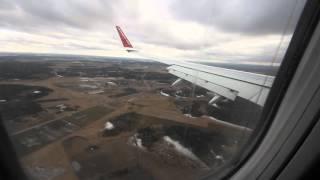 ストックホルムArlanda国際空港 着陸