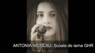 Antonia Nicolau  Scoala de iarna GHR