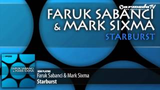 Faruk Sabanci & Mark Sixma - Starburst (Original Mix)